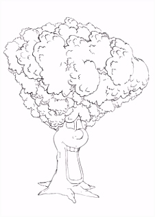 Adiboo Introduction Letter Coloring Page