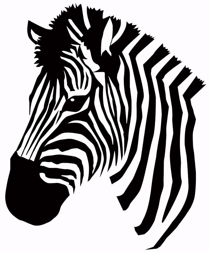 Collection of Free zebra Cliparts on Clip Art Library