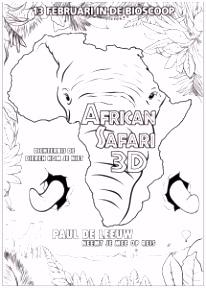 Kleurplaten van African Safari 3D JouwKleurplaten