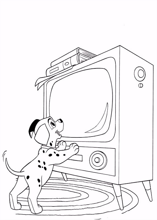 Index of coloriages films 101 Dalmatiers