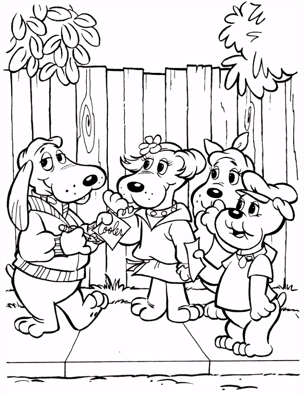 TimelessTrinkets Pound Puppy Coloring Pages
