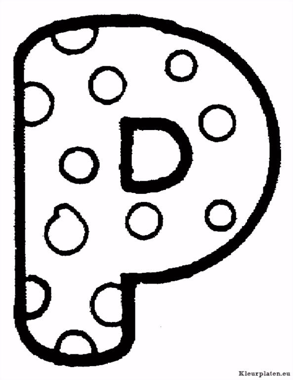 Alfabet kleurplaten Cijfers & Letters