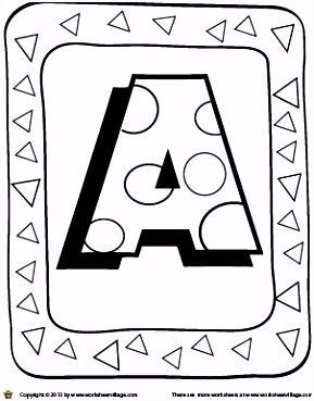 Abc Kleurplaten Fris Kleurplaten En Zo Kleurplaten Van Alfabet
