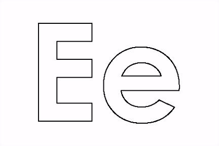 Alfabet Grote Letters ZC11