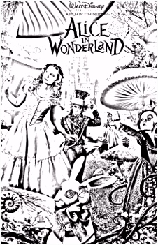 69 best Disney Alice in Wonderland Coloring Pages Disney images on