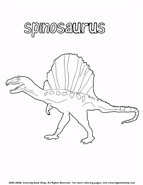 Kleurplaten Anchiceratops Dinosaurus Spinosaurus Coloring Page Dinosaurs Pinterest C4gl16vlu4 Csnv56hin4
