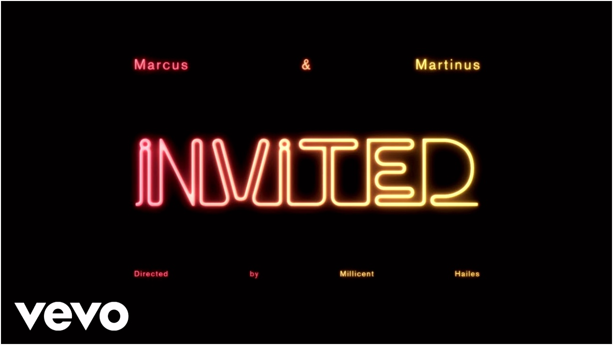 Marcus & Martinus Invited