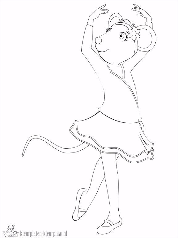 Ballerina Kleurplaten Nieuw Kids N Fun – Werkbladen en kleurplaten