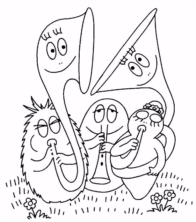 Barbapapa Kleurplaat Printen ARCHIDEV