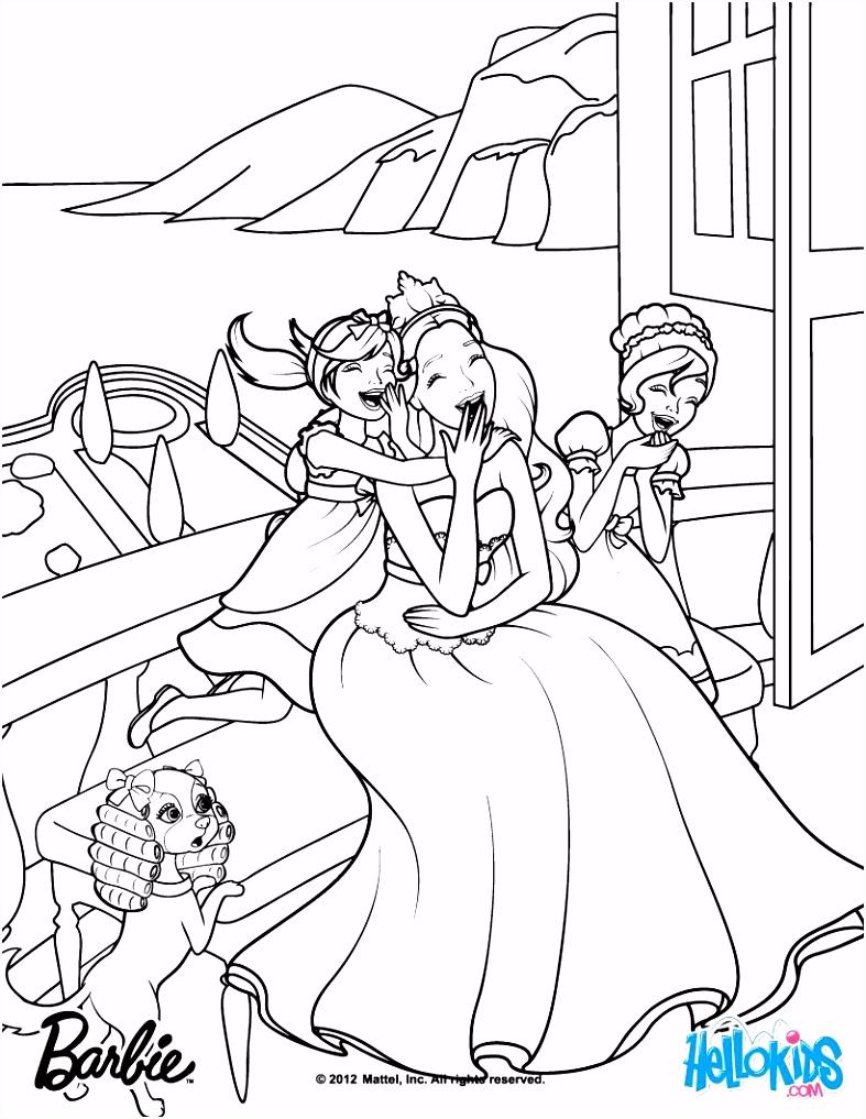 Meribella & Trevi are Tori s sisters Barbie coloring page More
