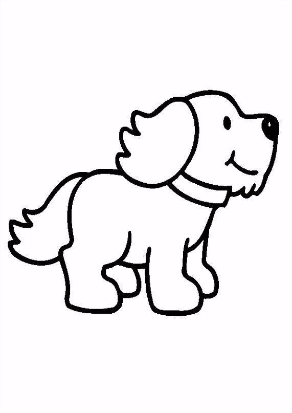 hondje kleurplaat Google zoeken