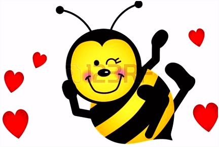 Cute Love Bee ABEJAS ZUMBONAS Pinterest