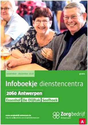 Infoboekje nstencentra 2060 Antwerpen by Zorgbedrijf Antwerpen