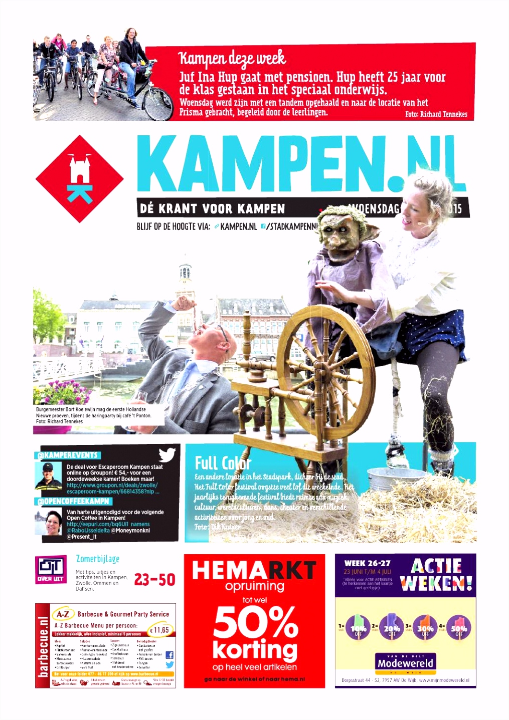 Kampen week 26 2015 by kampen issuu