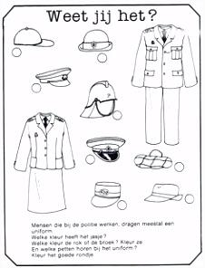 113 beste afbeeldingen van Thema Politie kleuters Theme police