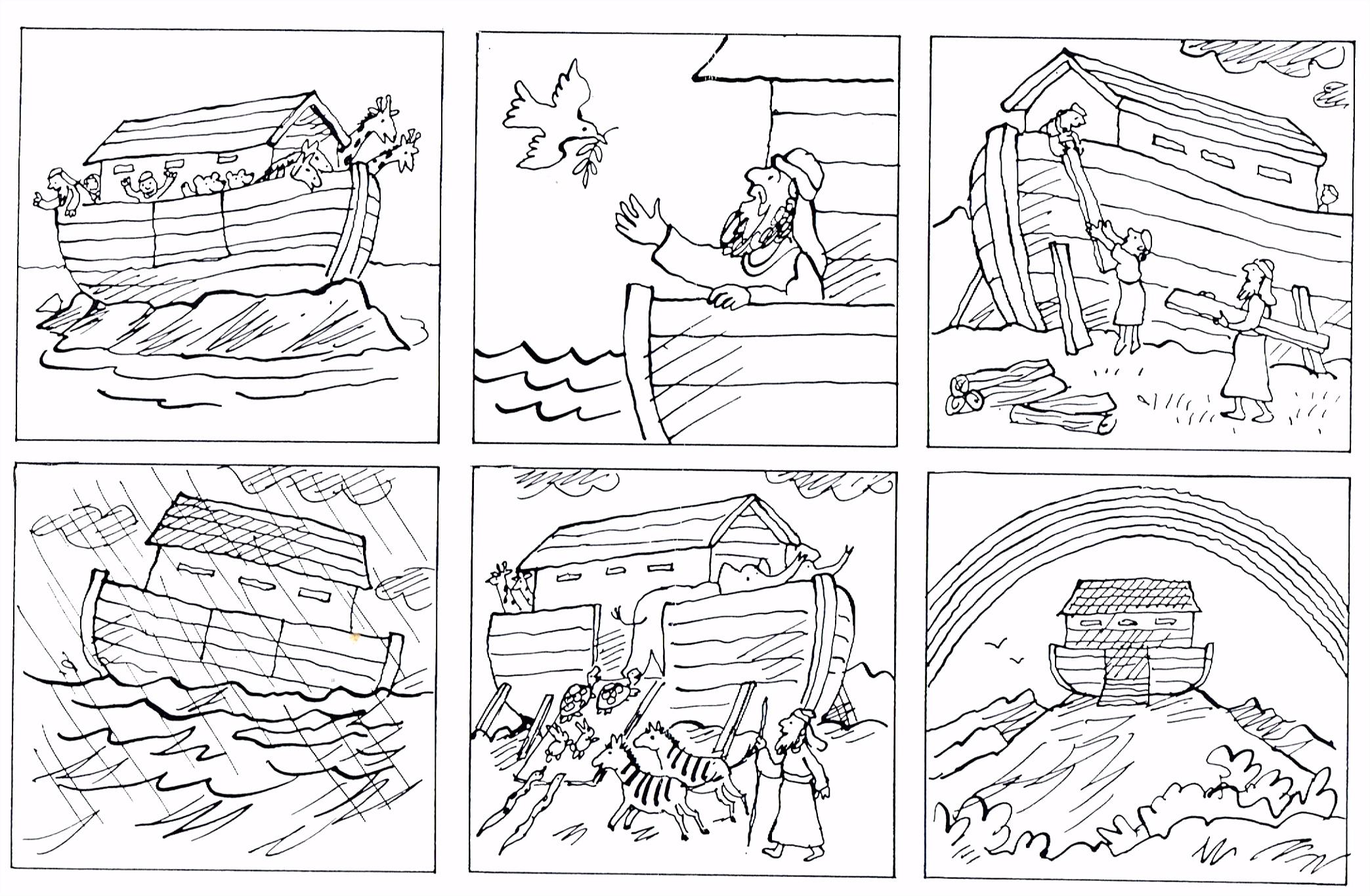 ark van noach school gods nst werkbladen
