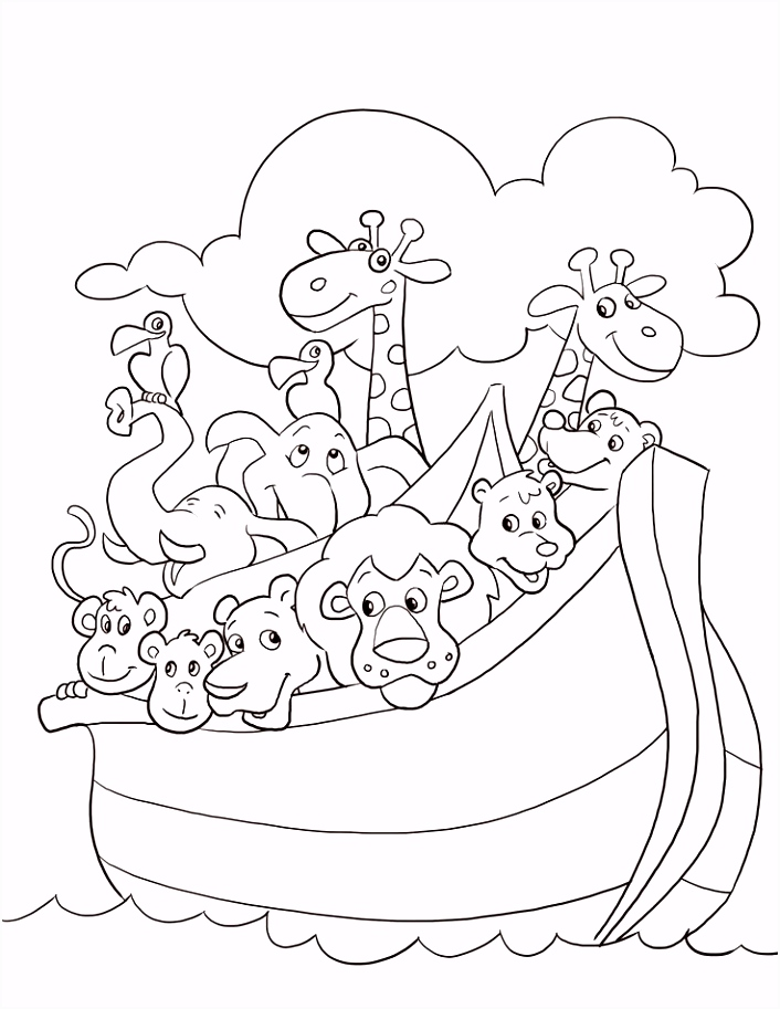 free noah s ark coloring pages noah s ark coloring page