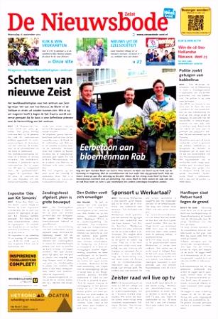 De Nieuwsbode Groot Zeist week38 by Wegener issuu