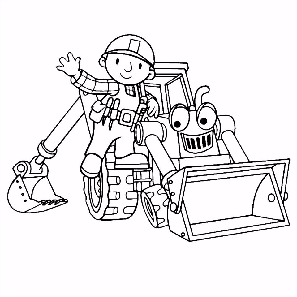 Leuk voor kids – Bob en Scoop de graafmachine