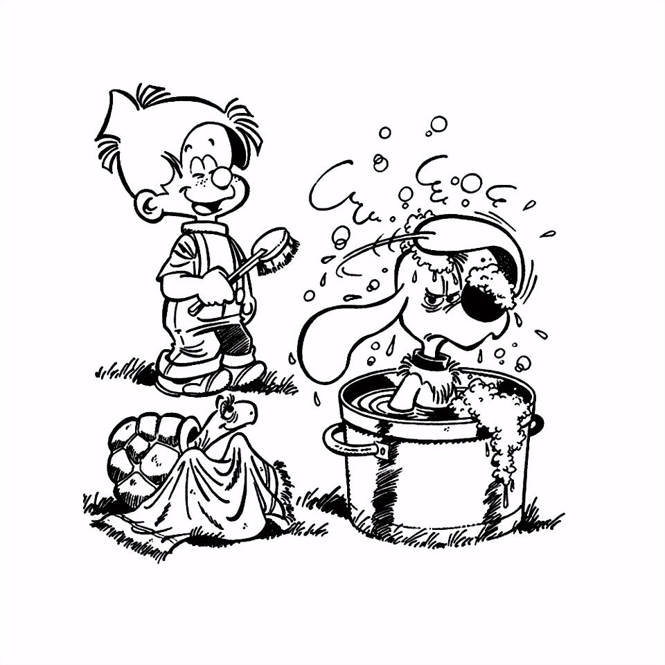 Leuk voor kids – Billie gaat niet graag in bad