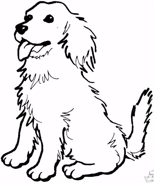 Kleurplaat Van Een Hond ARCHIDEV