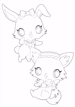 jewelpet anime Archives Coloring 4kids