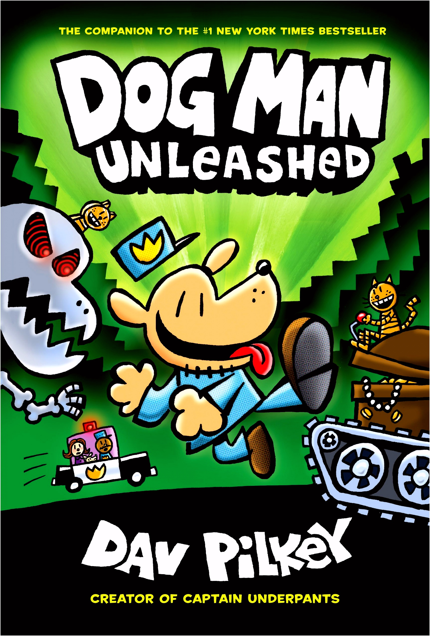 Amazon Dog Man Unleashed From the Creator of Captain