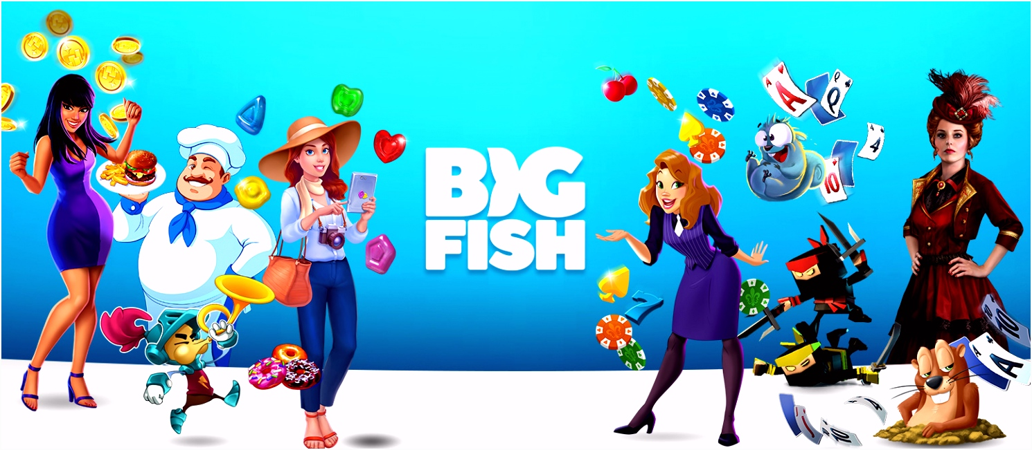 Big Fish Games Free to Play Mobile Home