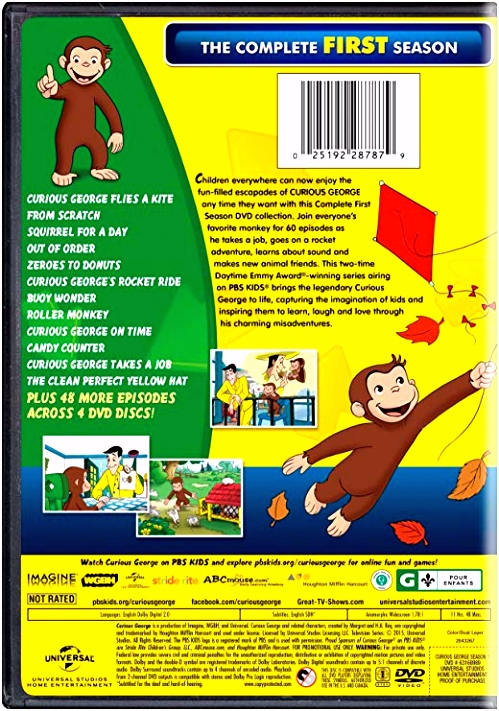 Curious George Season 1 [Import] Amazon DVD
