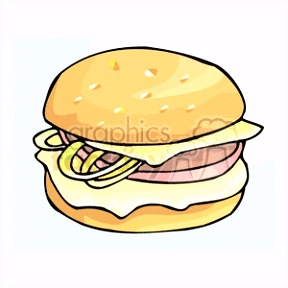 Sandwich Clip Art Image Royalty Free Vector Clipart Page