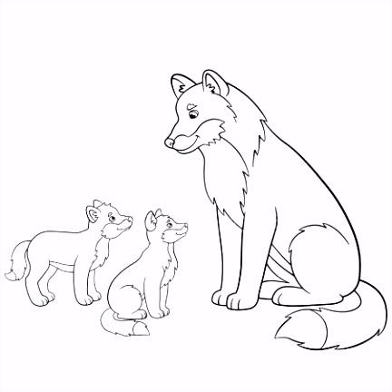 Kleurplaten Wolf.6 Kleurplaten De Wolf En De 7 Geitjes Sampletemplatex1234