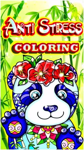 Kleuren voor volwassenen ren mandala kleurplaat in de App Store