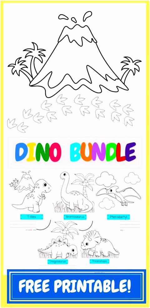 30 Best Dinosaur Coloring Page