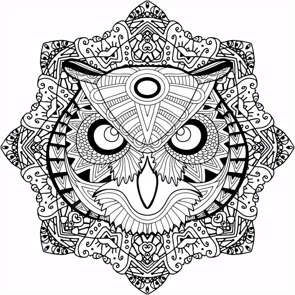Kleuren Voor Volwassenen Mandala Kleurplaat Met De – Joshua Rose