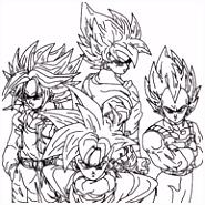 11 beste afbeeldingen van Dragonball Z