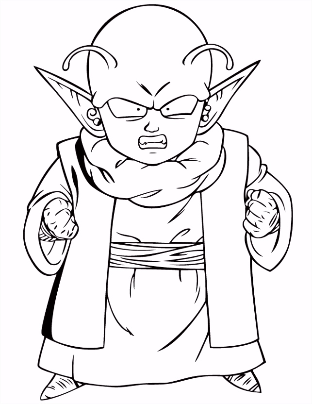 ball z coloring pages