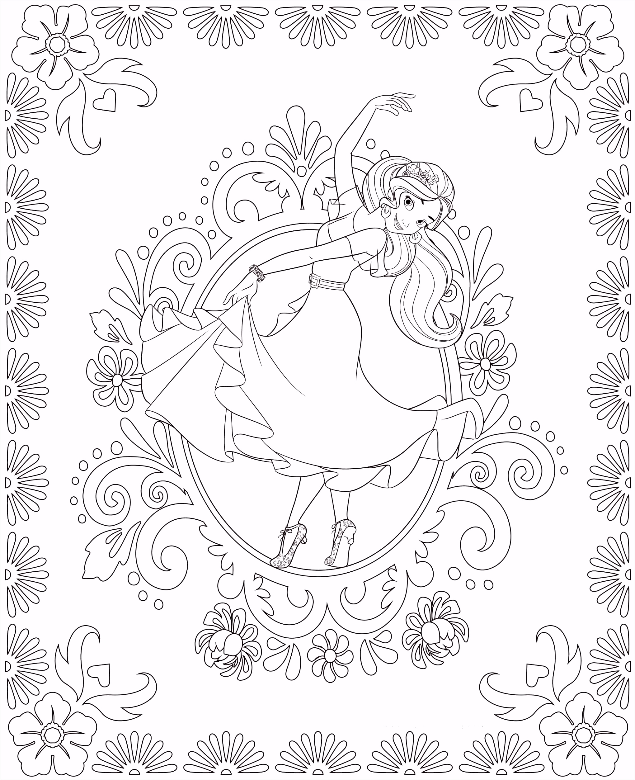 Elena of Avalor colouring pages Google search