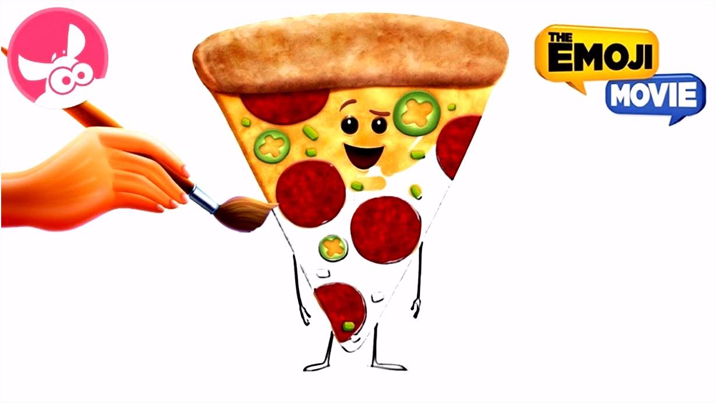 Pizza Kleurplaat ARCHIDEV