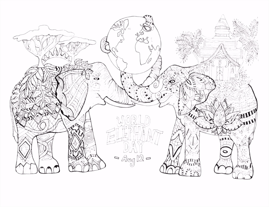 5 Apple Coloring Sheets