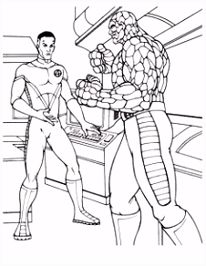23 best Super Heroes coloring page images on Pinterest