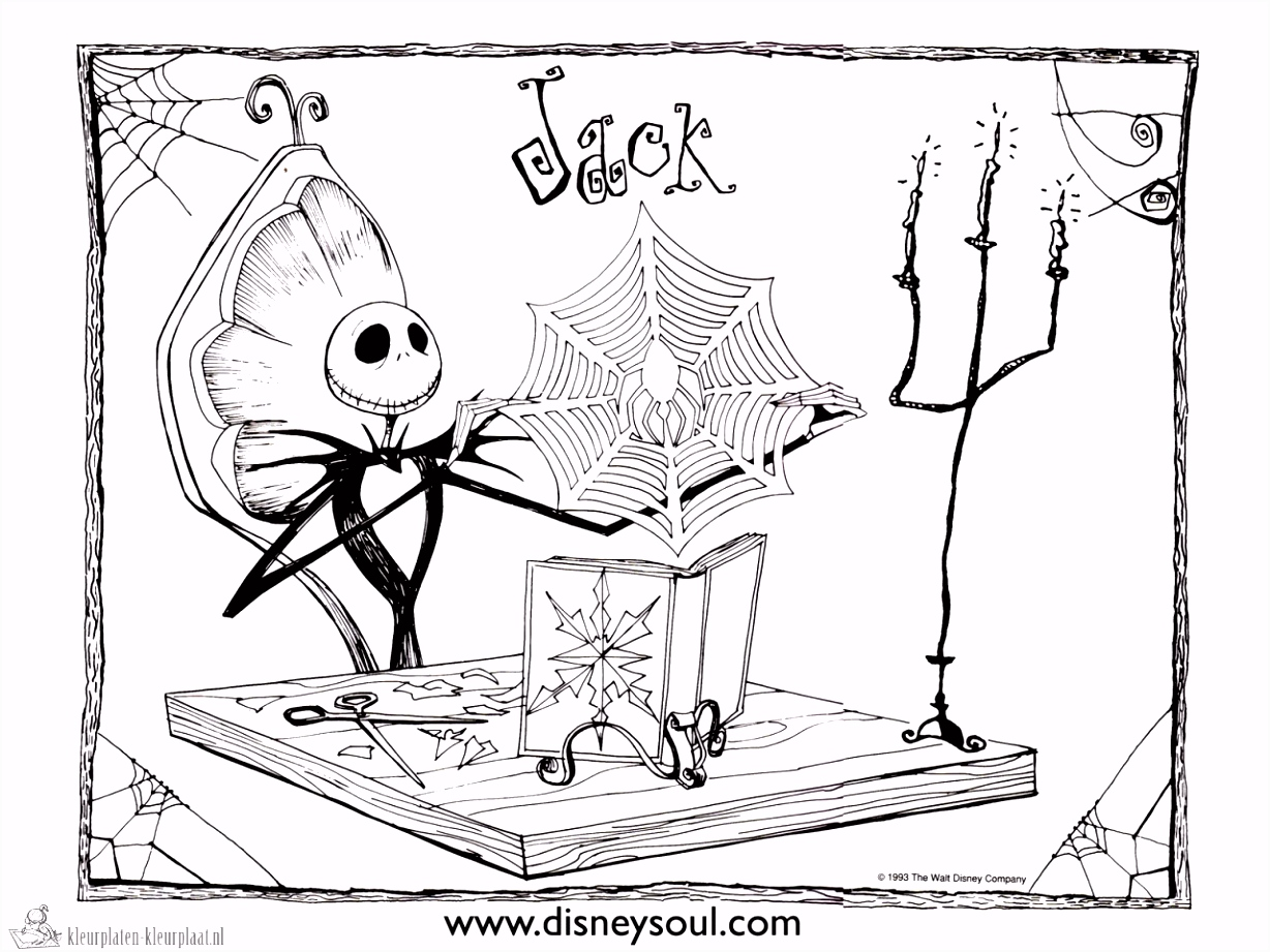 Kleurplaten Frozen Nightmare before Christmas Coloring Page S5iy97wag4 Vuoivssgw4