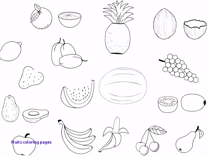 Cute Pumpkin Coloring Pages Fresh Awesome Cute Fruit Coloring Pages