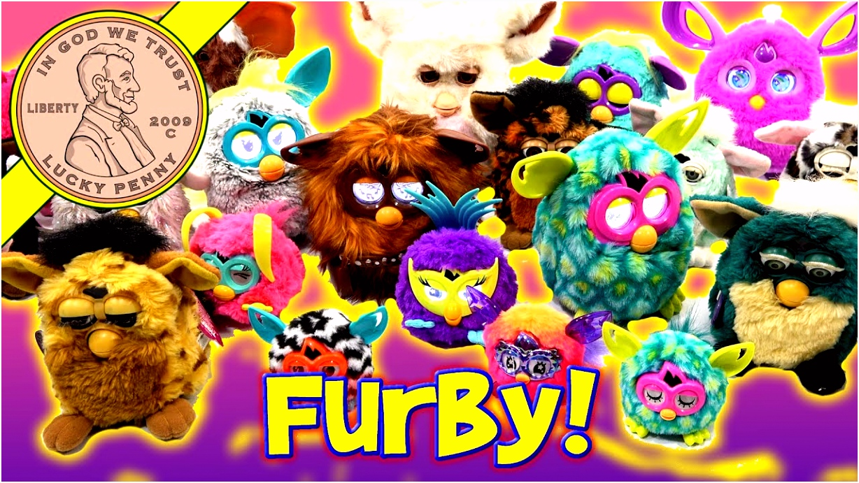 Furby Collection Bin Day Over 40 Tiger & Hasbro Furby 1998