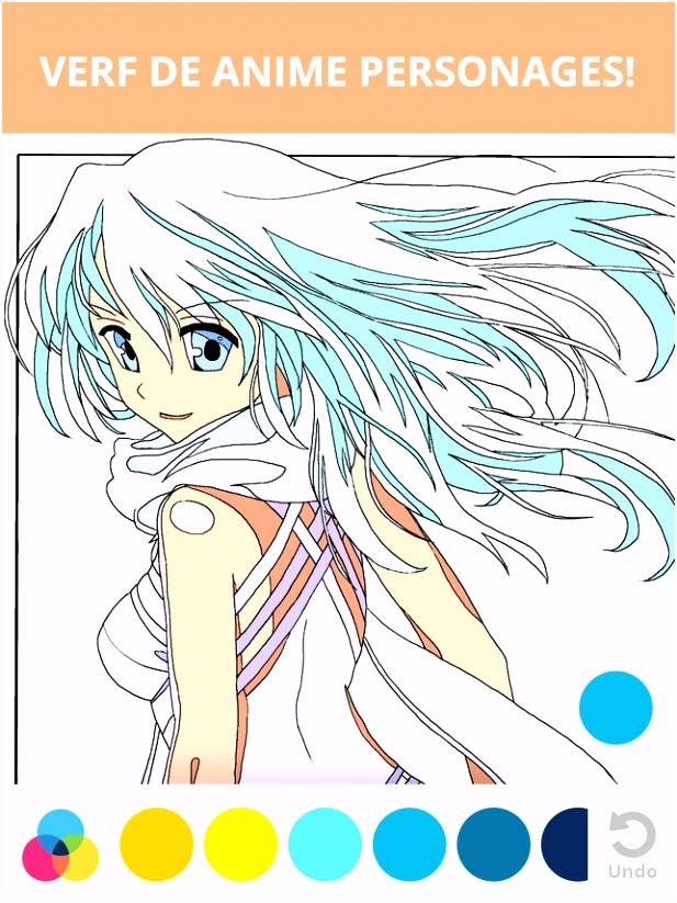 Manga & Anime kleurplaten voor volwassenen in de App Store