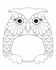 214 best Color Owls images on Pinterest