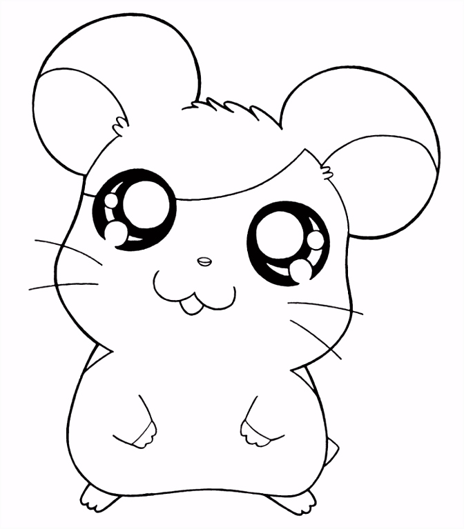 Coloring Page Hamster Coloring Home jeffersonclan
