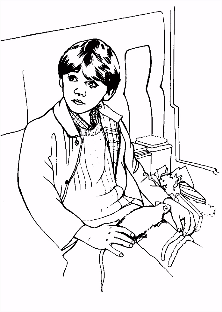 Harry Potter Coloring Page Harry Potter obsessed