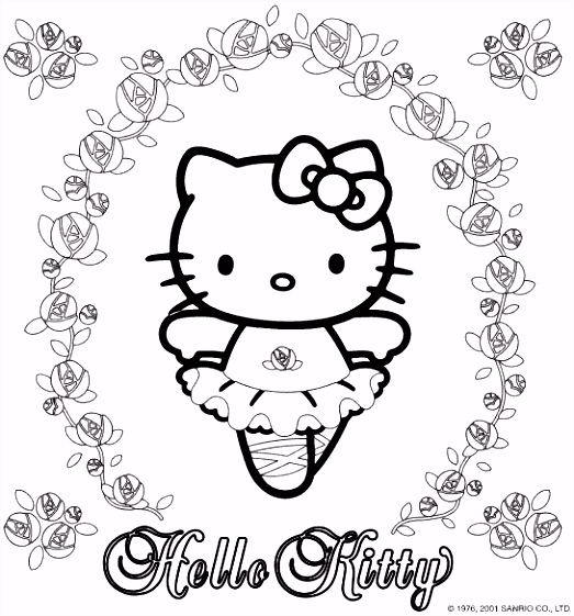 valnidoubping Hello Kitty And Friends Coloring