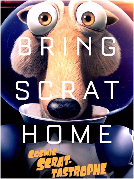 Sneak peek Scrat heads to space for Ice Age short