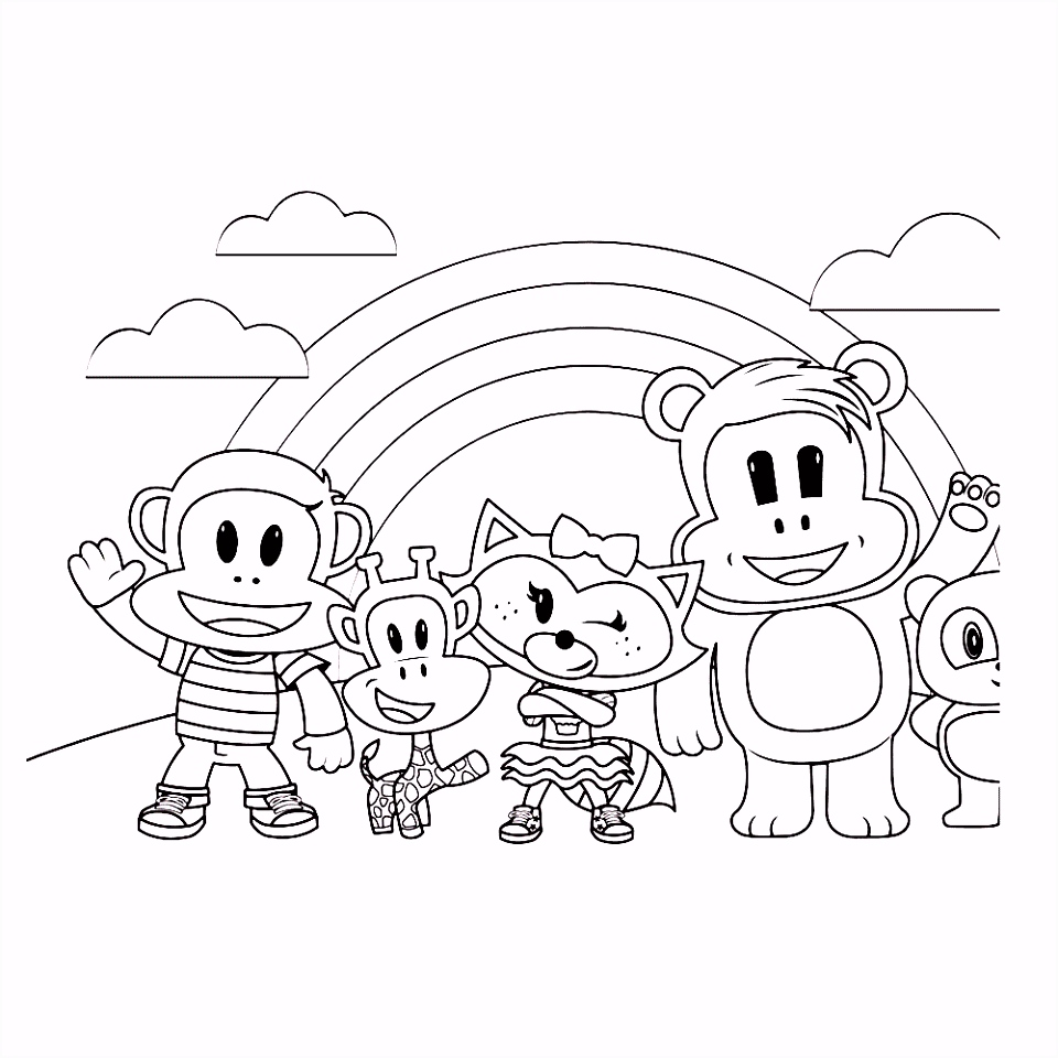 Leuk voor kids – Julius en zijn vriendjes